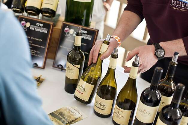 Attendees enjoyed tasting hundreds of American wines and sweeping views of San Francisco Bay at the San Francisco Chronicle Wine Competition at Fort Mason in San Francisco, Calif., Saturday, February 16, 2013. Photo: Jason Henry, Special To The Chronicle