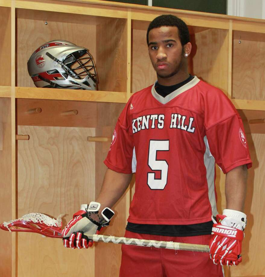Greenwich High School graduate Tim Swaby, who is currently a postgraduate student at Kents Hill School, recently committed to play lacrosse at Jacksonville University. Photo: Contributed