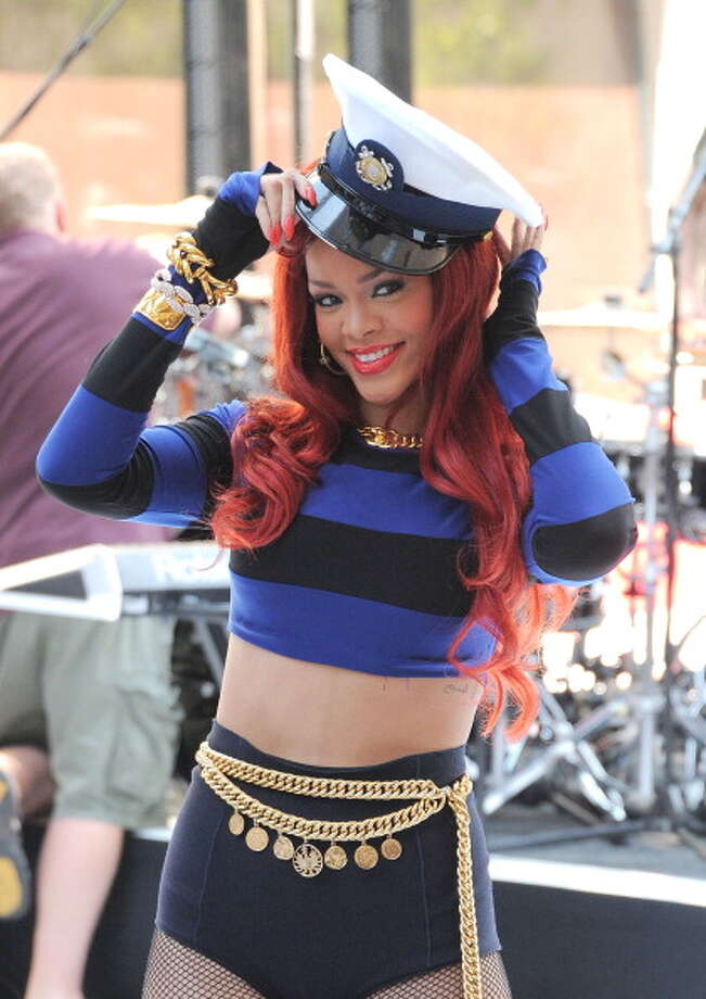 The sailor Rihanna.  Photo: Mike Coppola, Getty / 2011 Getty Images