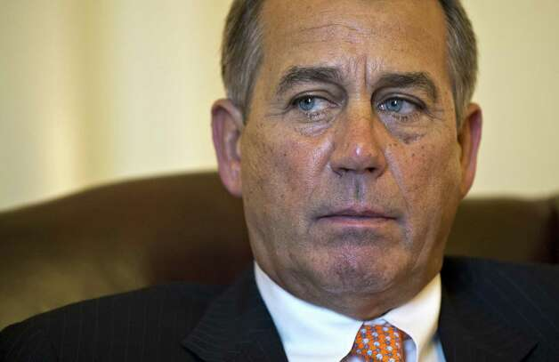 Speaker of the House John Boehner, R-Ohio, like Sen. Marco Rubio, was grim-faced during the president's State of the Union speech. A reader wonders why all the moroseness. Photo: J. Scott Applewhite, Associated Press