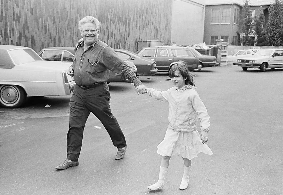 [crossing street in LA] Henry Wessel, Garry and Melissa Winogrand, Los Angeles, 1983; gelatin silver print; Henry Wessel