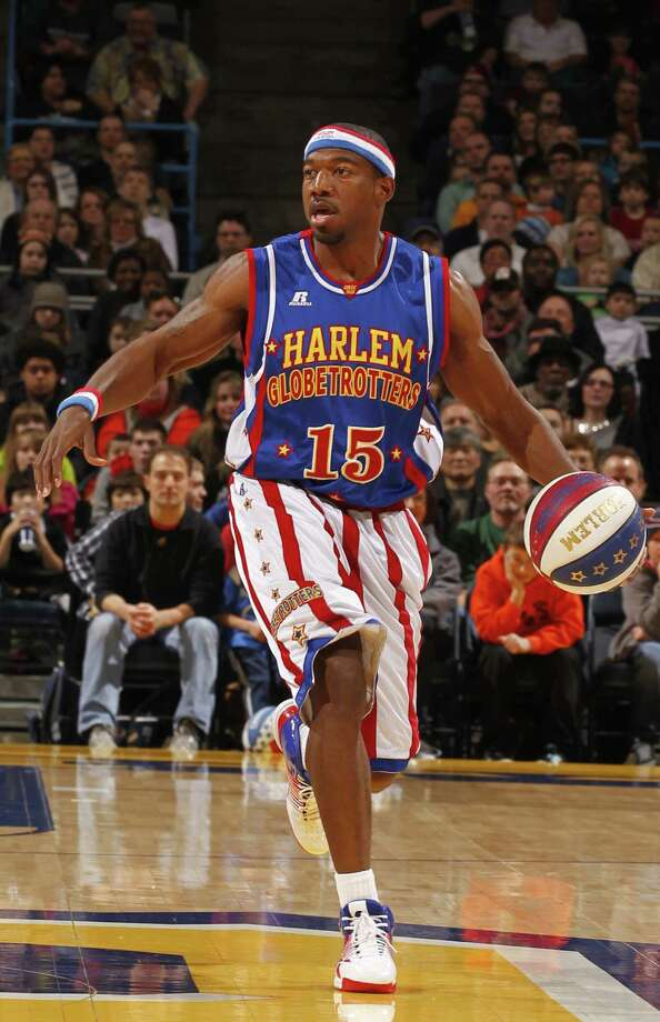 """Anthony """"Buckets"""" Blakes and the rest of his Harlem Globetrotters teammates will be making a stop in Bridgeport, Conn., Friday, Feb. 22, 2013, at the Webster Bank Arena for a 7 p.m. game. For more information, or to purchase tickets, call 800-745-3000 or visit http://www.ticketmaster.com. Photo: Contributed Photo"""