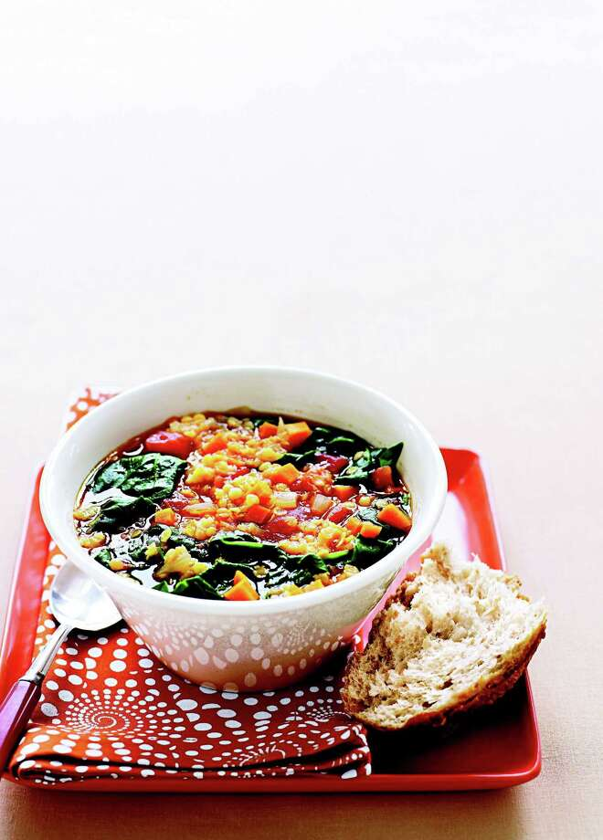 Good Housekeeping recipe for Red Lentil Vegetable Soup. Photo: James Baigrie
