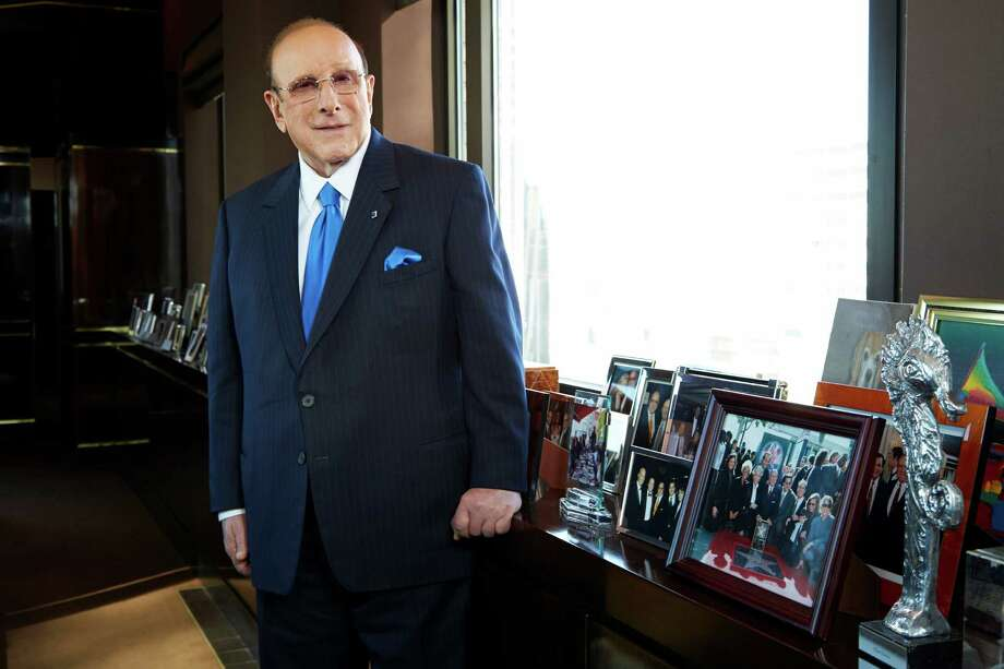 "This Feb. 18, 2013 photo shows  Sony Music Entertainment's Chief Creative Officer of and famous hitmaker Clive Davis posing for a portrait in New York. Davis' releases his memoir ""The Soundtrack of My Life,"" on Tuesday. (Photo by Dan Hallman/Invision/AP) Photo: Dan Hallman"