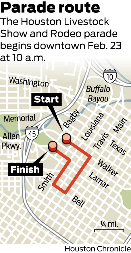 Rodeo Roundup Kicks Off Festivities Parade Route Outlined