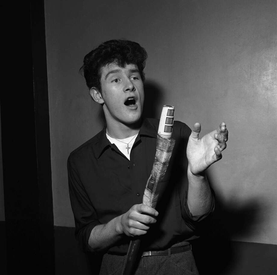 Tony Sheridan in a 1963 photo shoot. Photo: Getty Images / Getty/V&A Images/Harry Hammond