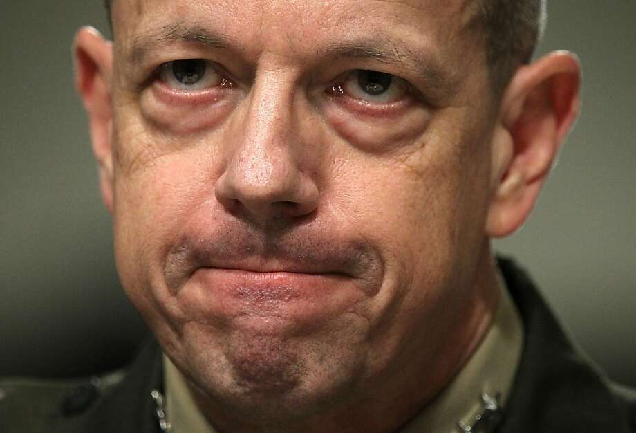 U.S. Marine General John Allen's last post was as the chief U.S. and NATO commander in Afghanistan. Photo: Alex Wong, Getty Images