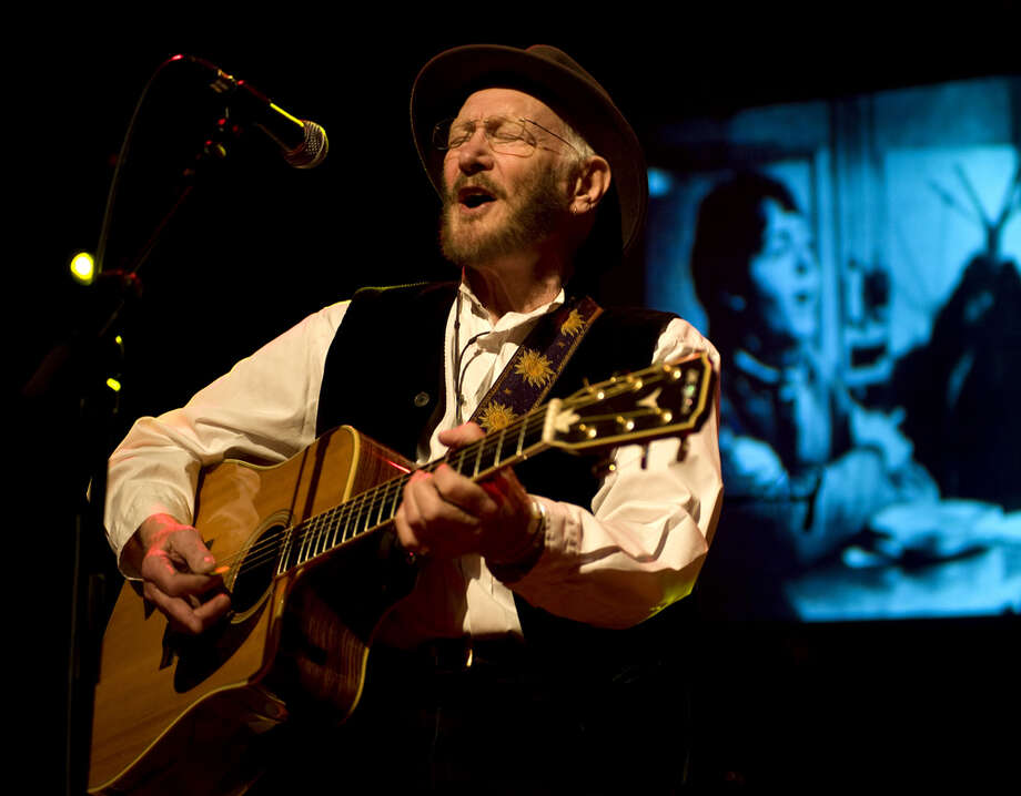 Tony Sheridan performs on stage at de Vorstin, Hilversum, Netherlands, 8th April 2012. Photo: Redferns / Getty Images/Rob Verhorst