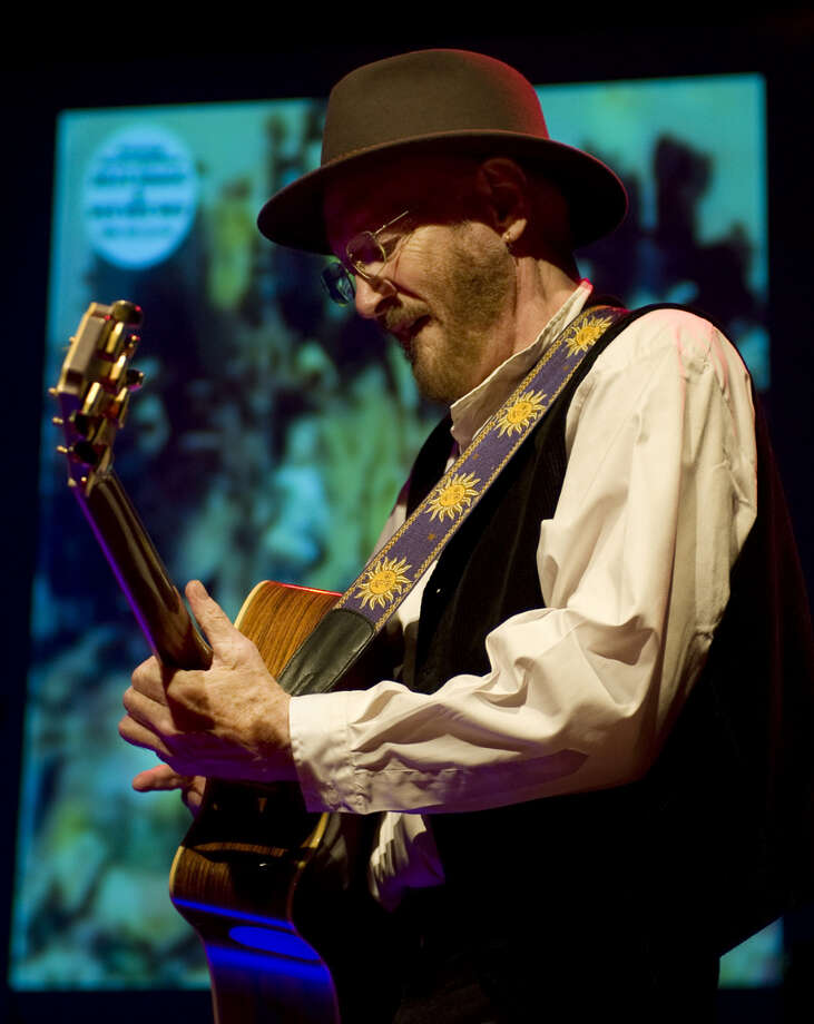 Tony Sheridan, who worked with The Beatles  in 1961, performs on stage at de Vorstin, Hilversum, Netherlands, 8th April 2012. Photo: Redferns / Getty Images/Rob Verhorst