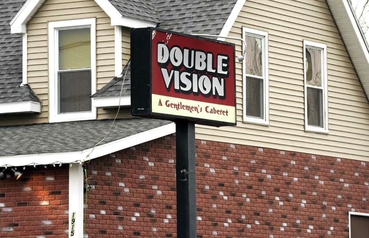 Double Vision strip club at 1915 Route 9 on Tuesday Feb. 19, 2013 in Halfmoon, N.Y. .(Michael P. Farrell/Times Union)