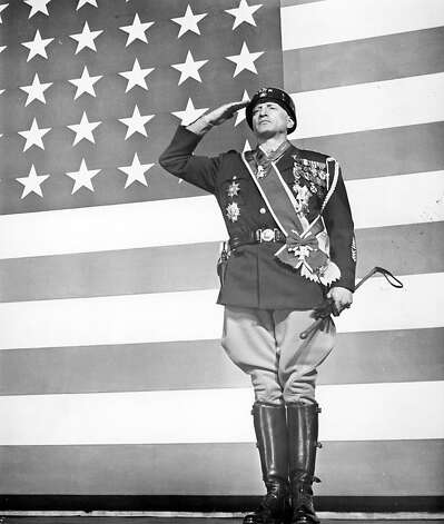 """Patton"" – Gen. George S. Patton earned the nickname ""Blood and Guts"" for his determination on the battlefield. This epic-scale production follows the commander as he guides his troops across Africa and Europe, illuminating a man whose life was defined by war. Available July 1 Photo: Michael Ochs Archives"