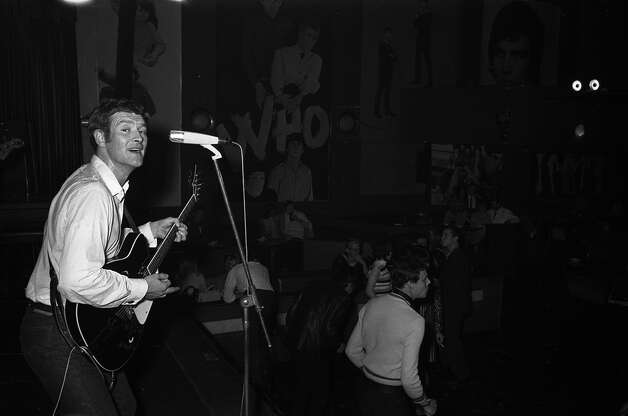 English singer and guitarist Tony Sheridan, circa 1965. Photo: Redferns / Getty Images/K&K Ulf Kruger OHG