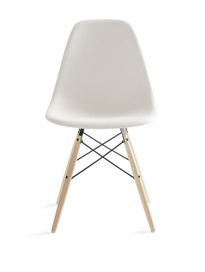 More: $399 to $428 Eames Molded Plastic Dowel-Leg Side Chair at Design Within Reach (dwr.com) Photo: Design Within Reach Studios