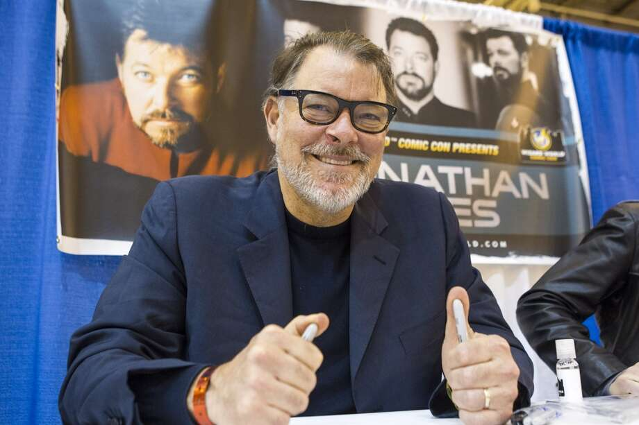 Jonathan Frakes at the Wizard World New Orleans Comic Con 2012.
