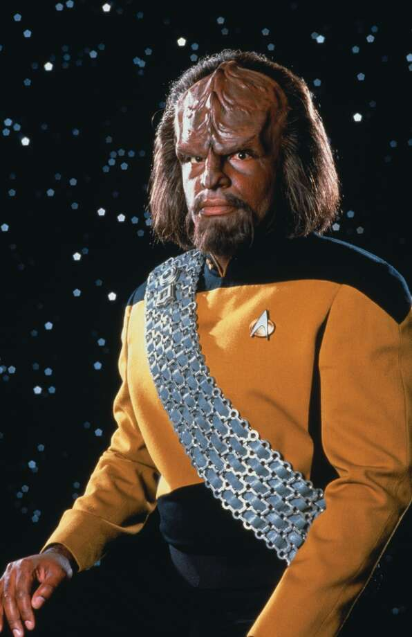 Michael Dorn as Lt. Worf.