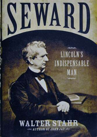 Cover of  Walter Stahr's biography of William Henry Seward, a member of Union College's Class of 1820 Tuesday Feb. 19, 2013.   (John Carl D'Annibale / Times Union) Photo: John Carl D'Annibale / 00021213A