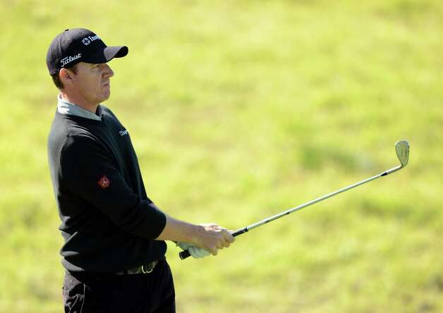 Jimmy Walker, 11th on the PGA Tour money list, and his wife, Erin, are expecting the birth of their second child Thursday. Photo: Harry How / Getty Images