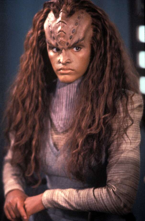 Here's Jennifer Gatti as Ba'el in 1993.