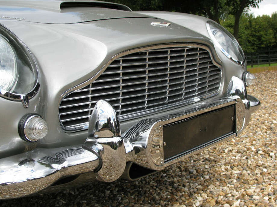 """This gadget-packed Aston Martin DB5 was one of four cars used to promote the James Bond films """"Goldfinger"""" and """"Thunderball."""" It is up for sale for $4.6 million.Source: RS Williams Photo: Richard Stewart Williams"""