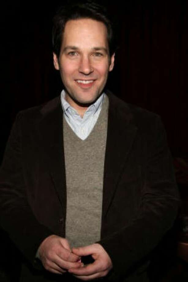 Paul Rudd, all trimmed upPHOTO BY BRYAN BEDDER/GETTY IMAGES