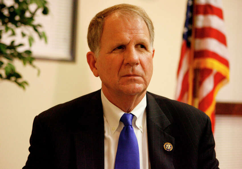 U.S. congressman Ted Poe, who serves the 2nd district of Texas, is seen during an appearance at the