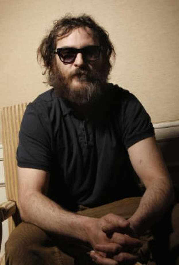 Joaquin Phoenix and the beard that confused us allPHOTO BY MATT SAYLES/AP