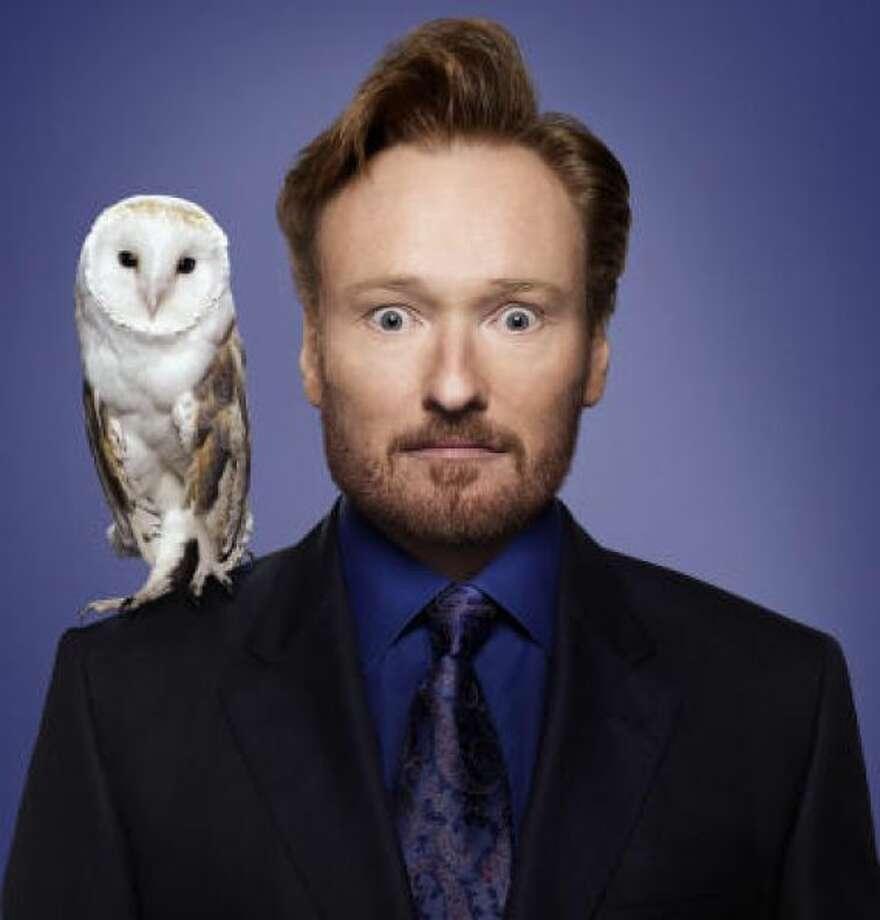 New show, new facial hair for Conan O'BrienHANDOUT