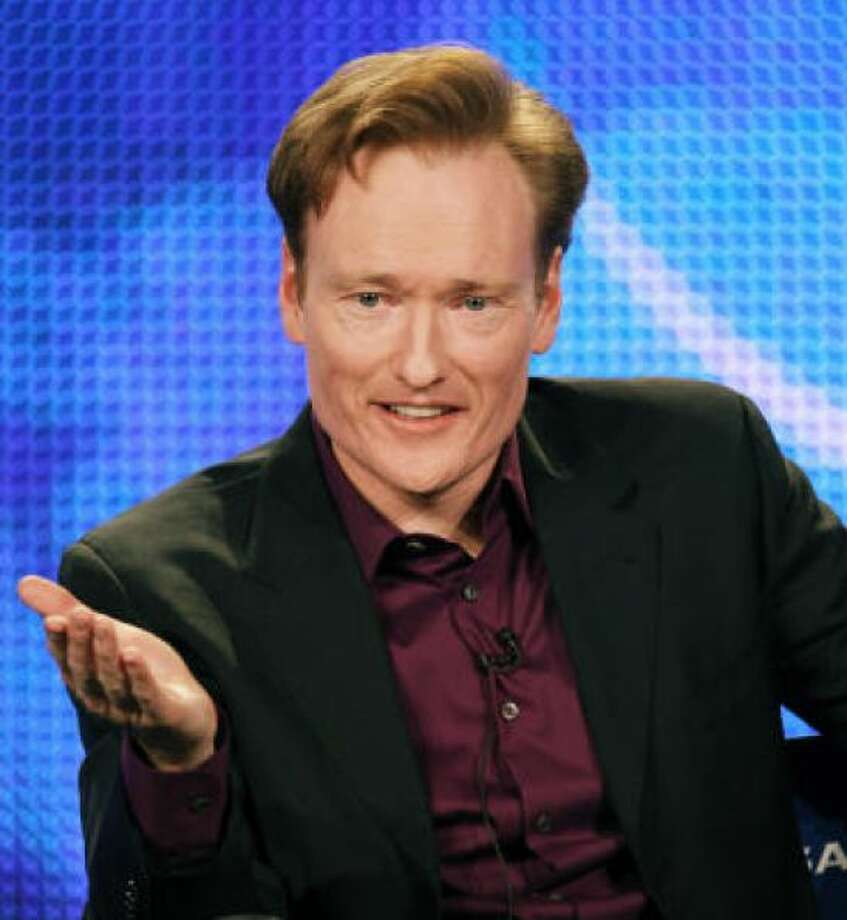 Tonight Show Conan O'Brien: No beardPHOTO BY FREDERICK M. BROWN/GETTY IMAGES
