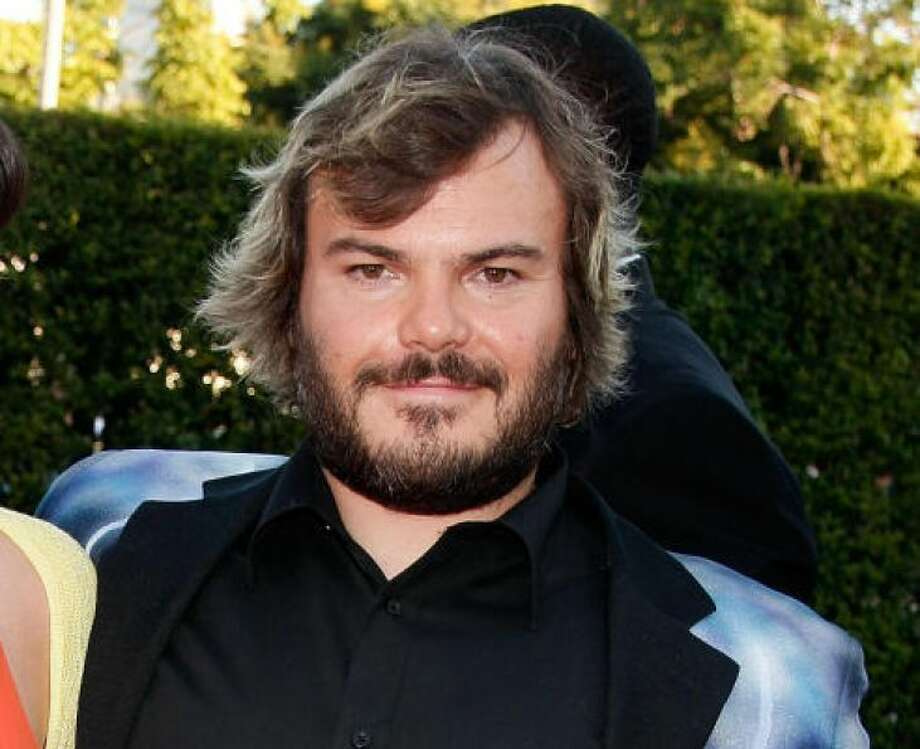 Jack Black letting his facial hair growPHOTO BY KEVIN WINTER/GETTY IMAGES