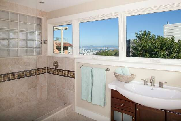 The bathrooms also received remodels. Photo: Trevor Henley, Henley Photography