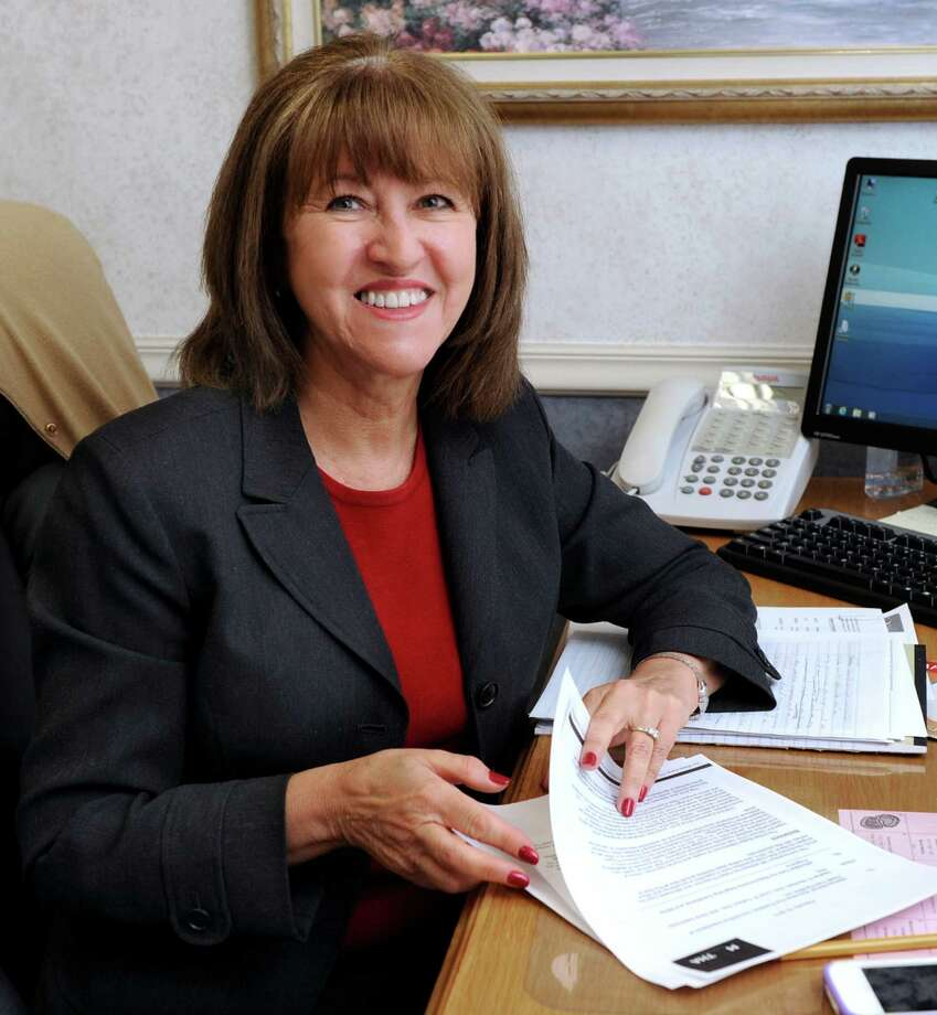 Ann M. Rogers, administrator of Candlewood Valley Health & Rehabilitation Center in New Milford, is photographed in her office Tuesday, Feb. 19, 2013. Photo: Carol Kaliff / The News-Times