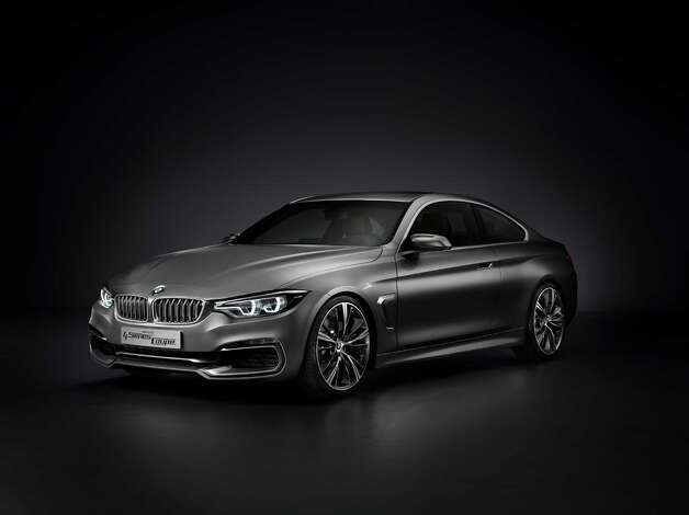 BMW Concept 4 Series Coupé debuted in 2012. The BMW Concept 4 Series Coupé symbolises extra sportiness and exclusiveness, thereby clearly distinguishing itself from its 3 Series sibling. The concept car's striking face is composed of crisp contours and multifaceted surfaces. Photo: BMW