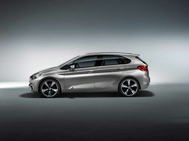 BMW Concept Active Tourer debuted in 2012. The harmoniously proportioned BMW Concept Active Tourer has an air of sporty elegance about it when viewed from any angle. It is concrete proof that compact dimensions, functionality and versatility are perfectly compatible with dynamic design. Photo: BMW