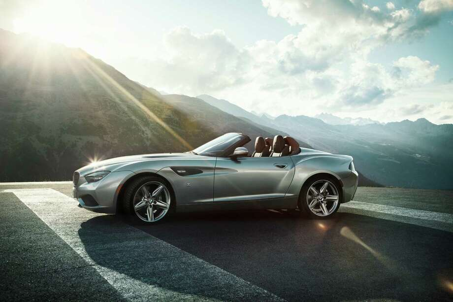 BMW Zagato Roadster debuted in 2012. The BMW Zagato Roadster can be seen as a highly elegant interpretation of the BMW Zagato Coupé. The BMW Zagato Roadster is very three-dimensional, broad and powerfully formed at the front. Photo: Phillip Schlegel, BMW / Phillip Schlegel