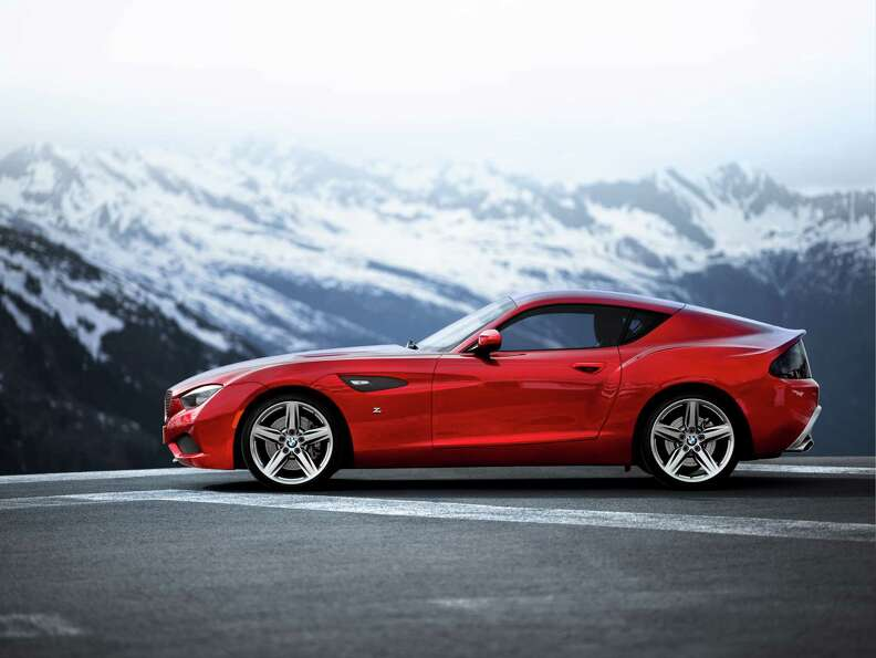 BMW Zagato Coupé debuted in 2012. The BMW Zagato Coupé is a BMW as seen through the eyes of the It