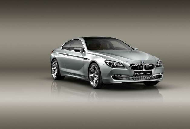 BMW Concept 6 Series Coupé debuted in 2010. This concept is the definitive sports car for connoisseurs of beauty with a penchant for luxury and groundbreaking technology. It symbolises the BMW design team's driving passion for aesthetic style paired with dynamic performance. Photo: BMW / This image is copyright free for editorial use. (c) BMW AG