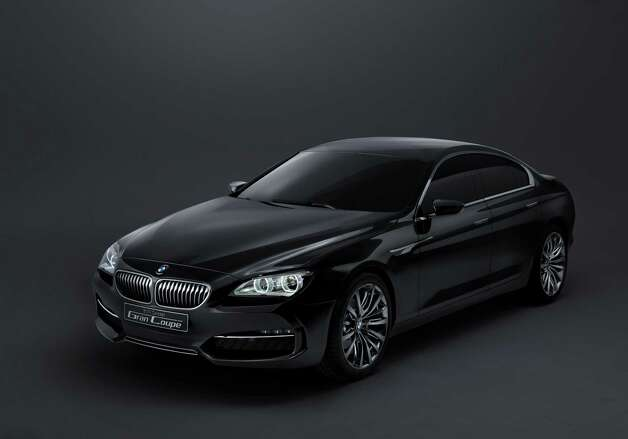 BMW Concept Gran Coupé debuted in 2010.