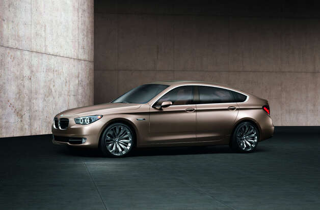 BMW Concept 5 Series Gran Turismo debuted in 2009. The BMW Concept 5 Series Gran Turismo melds together elegance, spaciousness and adaptability. The characteristic attributes of a prestigious sedan, a contemporary, highly versatile Sports Activity Vehicle and a classic Gran Turismo have been reinterpreted to produce a thrilling combination. Photo: BMW