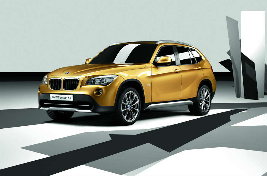 BMW Concept X1 debuted in 2008. Pitched as an innovative vehicle concept for the premium compact seg