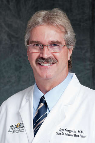 Igor Gregoric, M.D., Memorial Hermann, Center for Advanced Heart Failure Photo: Xx