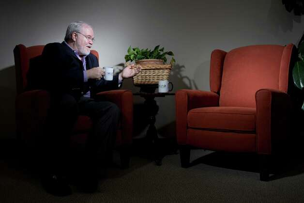 Psychologist Rob Pennington photographed for a story about imaginary friends, Feb. 11, 2013 in Houston, TX. Photo: Eric Kayne / © 2013 Eric Kayne