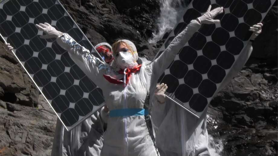 "A still from a video that is part of ""Untitled Apocalypse"" by Allison Berkoy (Courtesy the artist)"