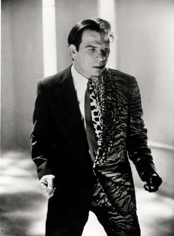 "Tommy Lee Jones is criminal mastermind Two-Face in ""Batman Forever."" Photo: Warner Bros / (C) 1995 DC COMICS ALL RIGHTS RESERVED"