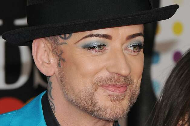 LONDON, ENGLAND - FEBRUARY 20:  Boy George attends the Brit Awards 2013 at the 02 Arena on February 20, 2013 in London, England.  (Photo by Eamonn McCormack/Getty Images) Photo: Eamonn McCormack, Getty Images