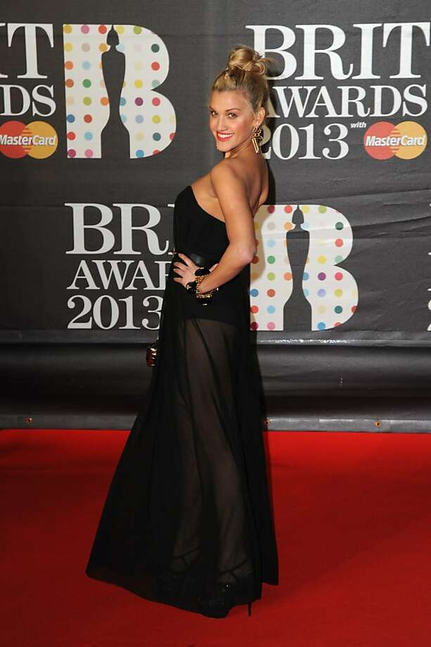 LONDON, ENGLAND - FEBRUARY 20:  Ashley Roberts attends the Brit Awards 2013 at the 02 Arena on February 20, 2013 in London, England.  (Photo by Eamonn McCormack/Getty Images) Photo: Eamonn McCormack, Getty Images