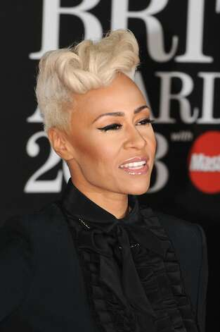 LONDON, ENGLAND - FEBRUARY 20:  Emeli Sandé attends the Brit Awards 2013 at the 02 Arena on February 20, 2013 in London, England.  (Photo by Eamonn McCormack/Getty Images) Photo: Eamonn McCormack, Getty Images