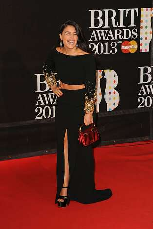 LONDON, ENGLAND - FEBRUARY 20:  Jessie Ware attends the Brit Awards 2013 at the 02 Arena on February 20, 2013 in London, England.  (Photo by Eamonn McCormack/Getty Images) Photo: Eamonn McCormack, Getty Images