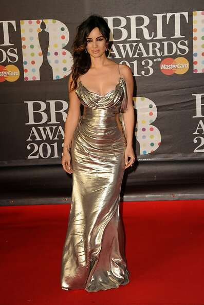 LONDON, ENGLAND - FEBRUARY 20:  Berenice Marlohe attends the Brit Awards 2013 at the 02 Arena on Feb