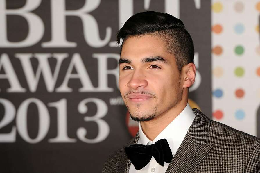 LONDON, ENGLAND - FEBRUARY 20:  Louis Smith attends the Brit Awards 2013 at the 02 Arena on February