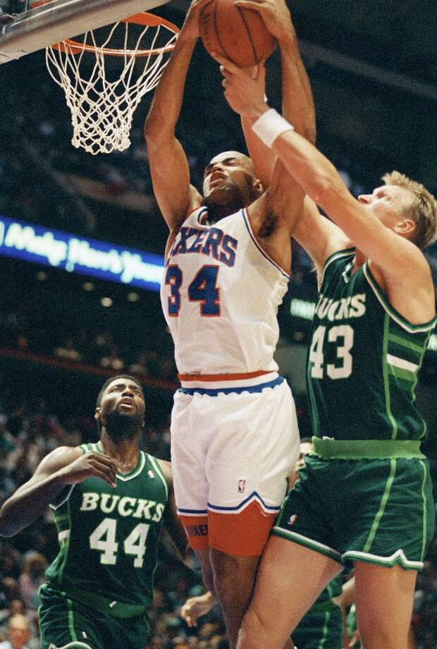 With his prowess on the boards, Barkley earned the nickname the Round Mound of Rebound.